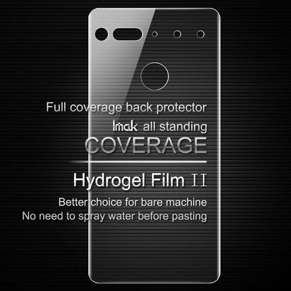 【ネコポス送料無料】Essential Phone PH-1 IMAK製保護フィルム リア用 [1]