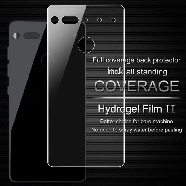 【ネコポス送料無料】Essential Phone PH-1 IMAK製保護フィルム リア用 [2]