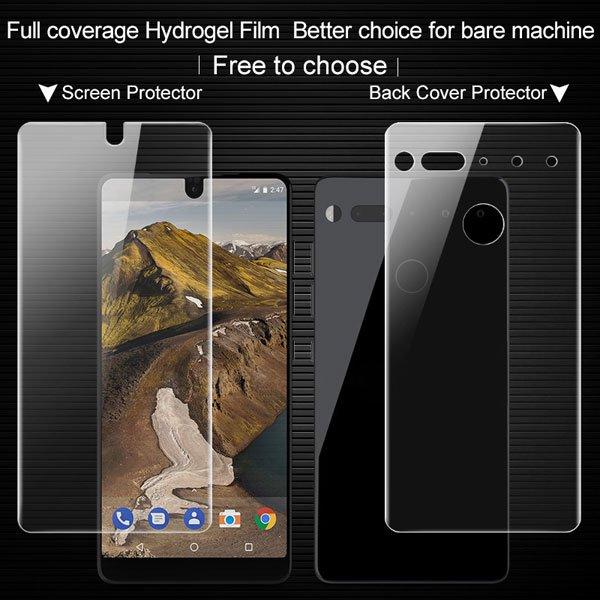 【ネコポス送料無料】Essential Phone PH-1 IMAK製保護フィルム リア用 [5]