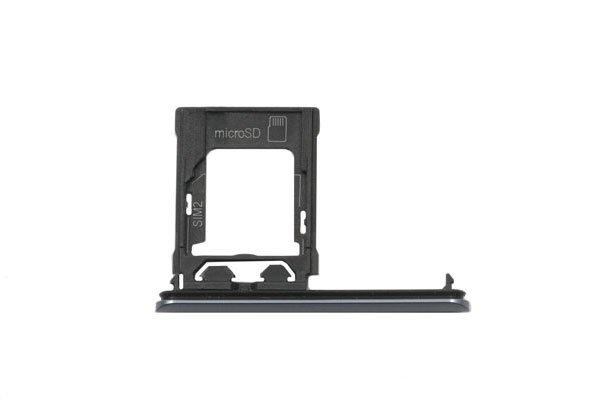 【ネコポス送料無料】Xperia XZ1 SIM & マイクロSDカードトレイASSY 全4色 [6]