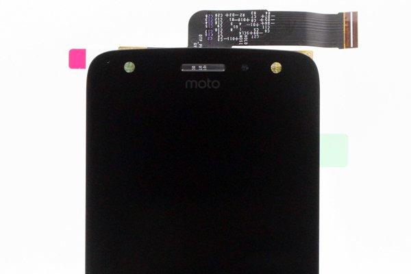 Motorola Moto X4 フロントパネル交換修理 ブラック [3]
