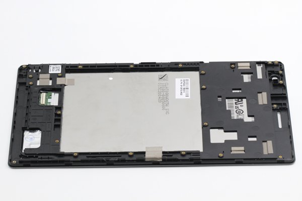 ASUS ZenPad 8.0 (Z380KL) フロントパネルASSY ブラック 修理 [4]
