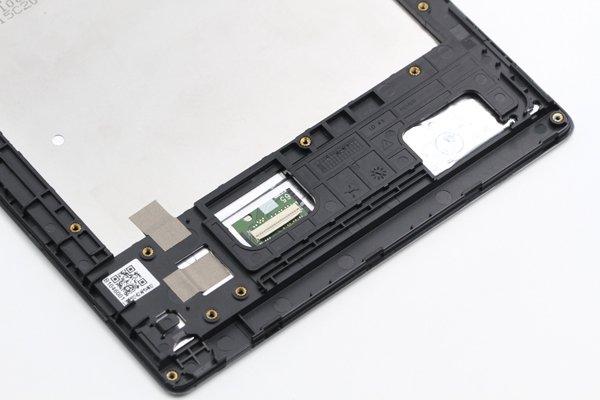 ASUS ZenPad 8.0 (Z380KL) フロントパネルASSY ブラック 修理 [5]