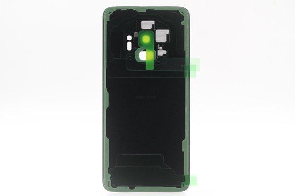 【ネコポス送料無料】Galaxy S9(SM-G9600)バックカバー ブラック [2]