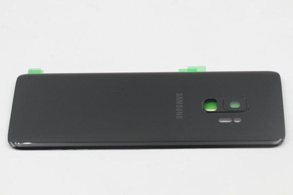 【ネコポス送料無料】Galaxy S9(SM-G9600)バックカバー ブラック [6]