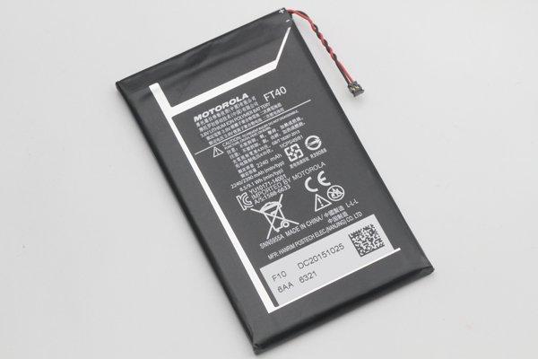 【ネコポス送料無料】Motorola Moto E(2nd Gen)FT40 バッテリー 2390mAh [4]
