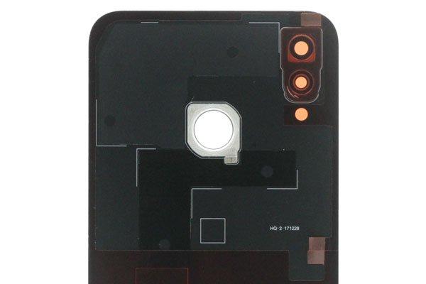 【ネコポス送料無料】Huawei P20 lite バックカバー ブルー [3]