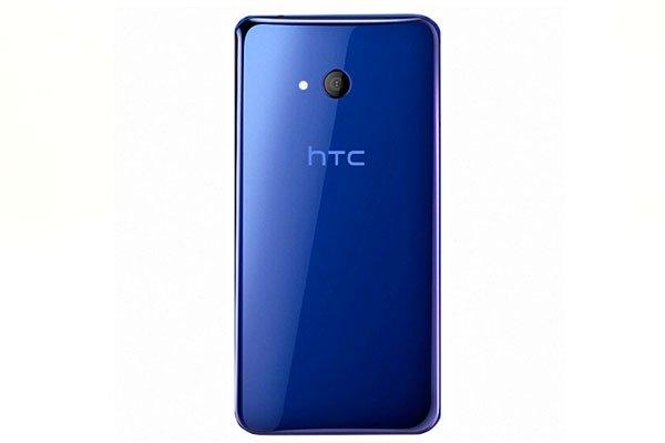 【ネコポス送料無料】HTC U11 Life バックカバー ブルー [1]