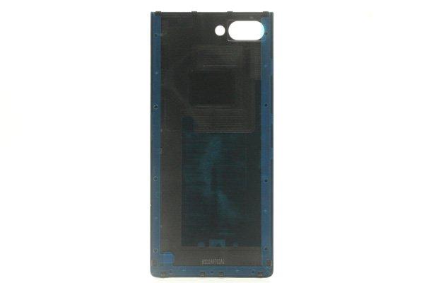 【ネコポス送料無料】Blackberry Key2 バックカバー シルバーロゴ [2]