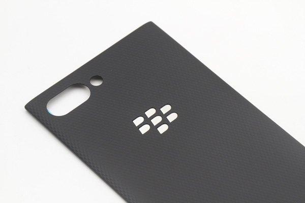 【ネコポス送料無料】Blackberry Key2 バックカバー シルバーロゴ [3]