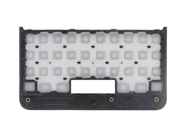 【ネコポス送料無料】Blackberry KEY2 キーボードカバー ブラック [2]