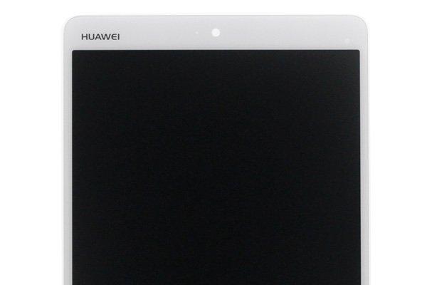 Huawei MediaPad M3(BTV-DL09 BTV-W09共通)フロントパネル ホワイト 交換修理 [3]
