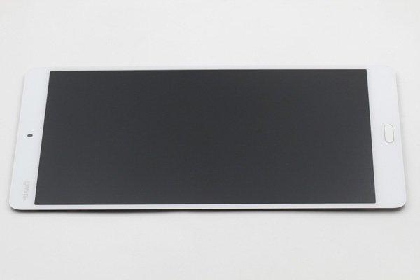 Huawei MediaPad M3(BTV-DL09 BTV-W09共通)フロントパネル ホワイト 交換修理 [6]