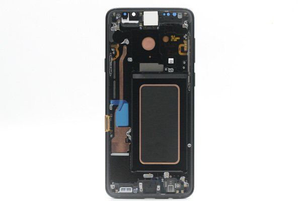 Galaxy S9+(SM-G965 SC-03K SCV39)フロントパネルASSY ブラック 交換修理 [2]