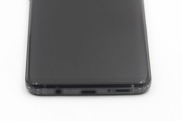 Galaxy S9+(SM-G965 SC-03K SCV39)フロントパネルASSY ブラック 交換修理 [7]