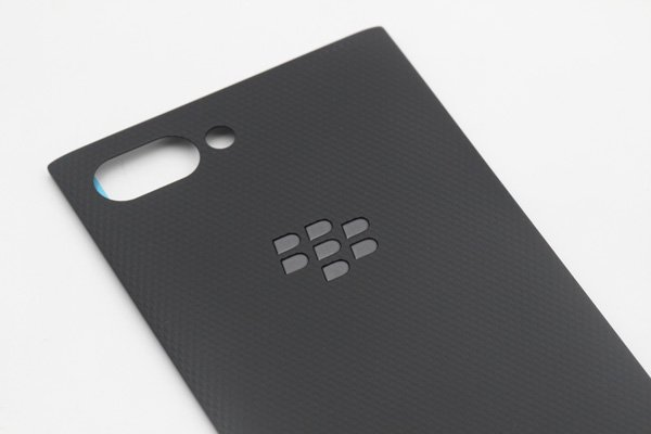 【ネコポス送料無料】Blackberry Key2 バックカバー ブラックロゴ [3]