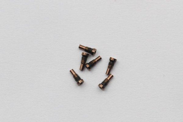 【ネコポス送料無料】iPhone8 星型ネジ 全3色 [3]