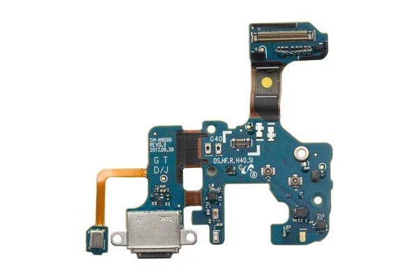【ネコポス送料無料】Galaxy Note8 SC-01K(SM-N950D)USB TYPE-C コネクターケーブルASSY [1]