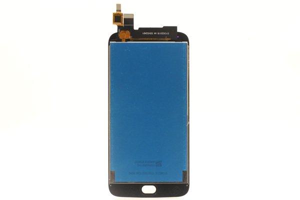 Motorola Moto G5S,G5S Plus フロントパネル ブラック 交換修理 [2]
