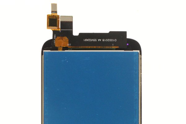 Motorola Moto G5S,G5S Plus フロントパネル ブラック 交換修理 [4]