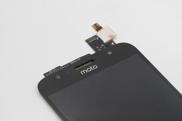 Motorola Moto G5S,G5S Plus フロントパネル ブラック 交換修理 [5]