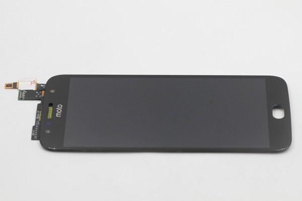 Motorola Moto G5S,G5S Plus フロントパネル ブラック 交換修理 [6]
