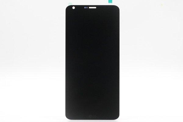 LG G6,G6+ 共通 フロントパネル ブラック 交換修理 [1]