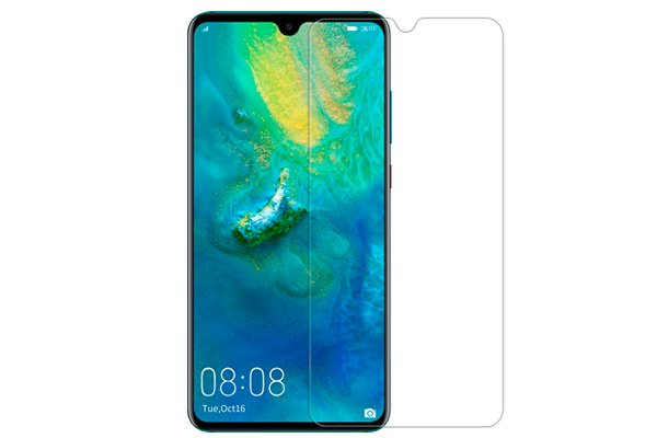 【ネコポス送料無料】Huawei Mate20 強化ガラスフィルム ナノコーティング 硬度9H  [1]