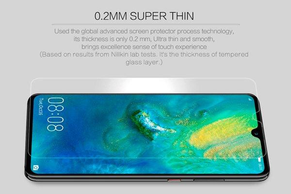 【ネコポス送料無料】Huawei Mate20 強化ガラスフィルム ナノコーティング 硬度9H  [2]