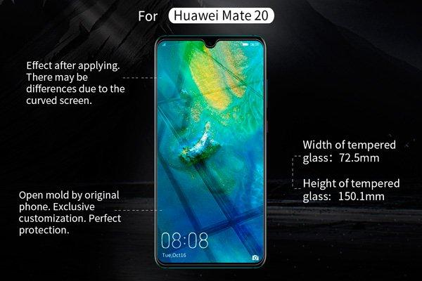 【ネコポス送料無料】Huawei Mate20 強化ガラスフィルム ナノコーティング 硬度9H  [7]