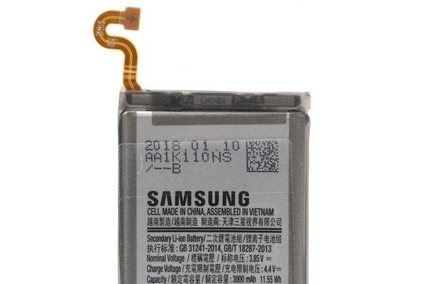 【ネコポス送料無料】Galaxy S9(SM-G960)バッテリー EB-BG960ABE 3000mAh [3]
