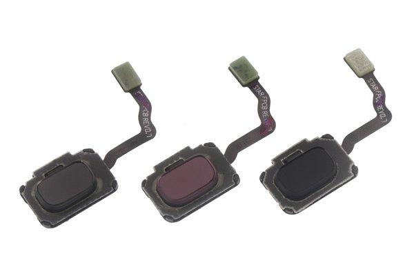 【ネコポス送料無料】Galaxy S9 S9+ 共通指紋センサーケーブル ブラック [1]
