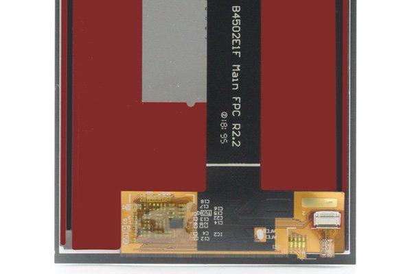 Blackberry KEY2 LE フロントパネル交換修理 [4]