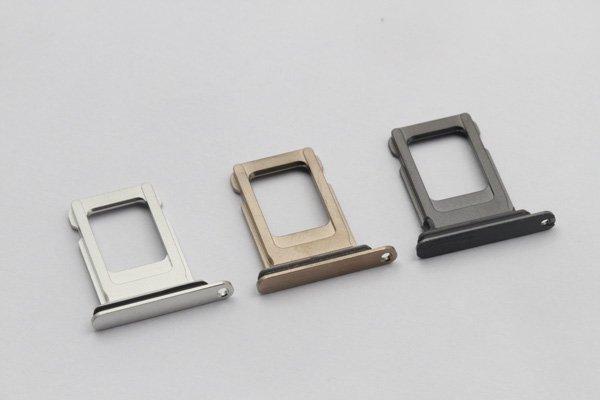 【ネコポス送料無料】iPhone XS MAX SIMカードトレイ 全3色 [1]