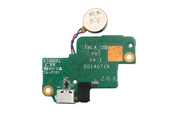 Lenovo Tab S8-50F マイクロUSBコネクターボードASSY [1]