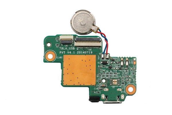Lenovo Tab S8-50F マイクロUSBコネクターボードASSY [2]