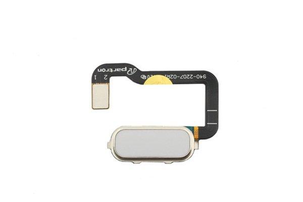 【ネコポス送料無料】Zenfone3 Ultra(ZU680KL)ホームボタンケーブル ホワイト [1]