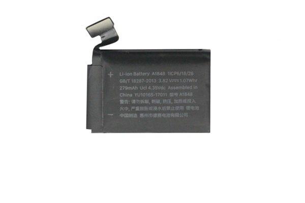 【ネコポス送料無料】Apple Watch3(38mm)GPS+Cellular バッテリー A1848 270mAh [1]