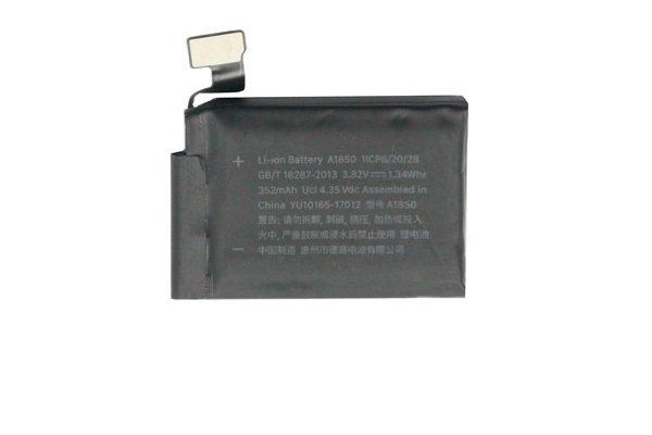 【ネコポス送料無料】Apple Watch3(42mm)GPS バッテリー A1850 352mAh [1]