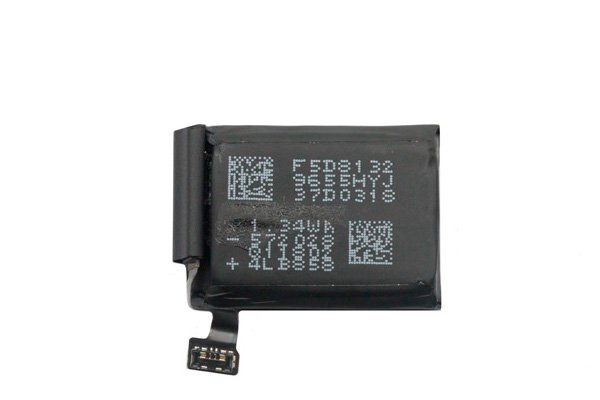 【ネコポス送料無料】Apple Watch3(42mm)GPS バッテリー A1850 352mAh [2]