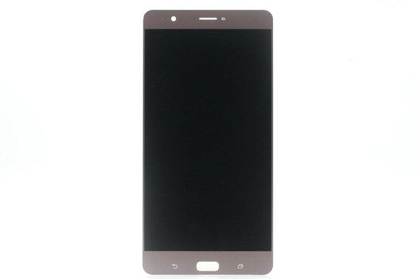 Zenfone3 Ultra(ZU680KL)フロントパネル 交換修理 ピンク [1]