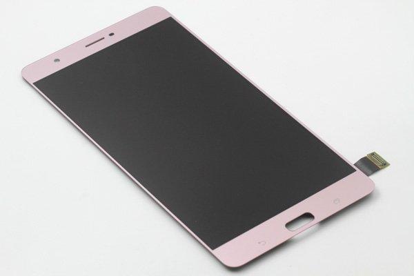 Zenfone3 Ultra(ZU680KL)フロントパネル 交換修理 ピンク [5]
