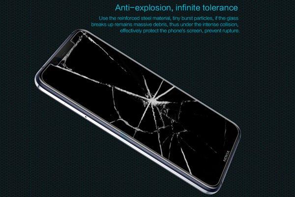 【ネコポス送料無料】Nokia8.1 強化ガラスフィルム ナノコーティング 硬度9H  [3]