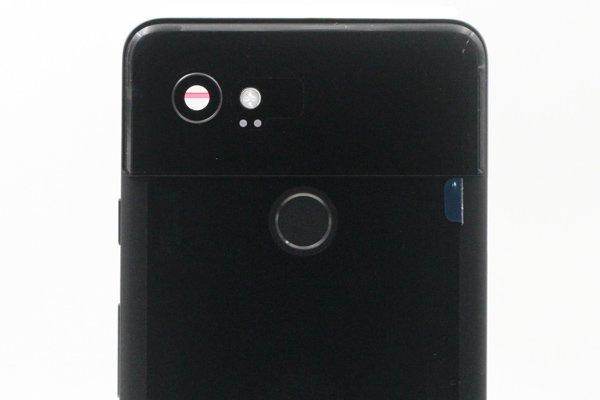 【ネコポス送料無料】Google Pixel2 XL バックカバー ブラック [3]
