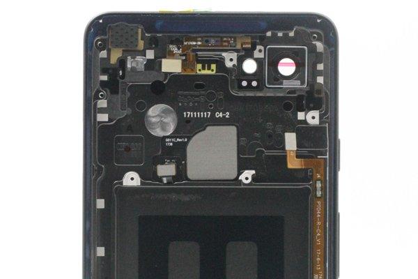 【ネコポス送料無料】Google Pixel2 XL バックカバー ブラック [4]