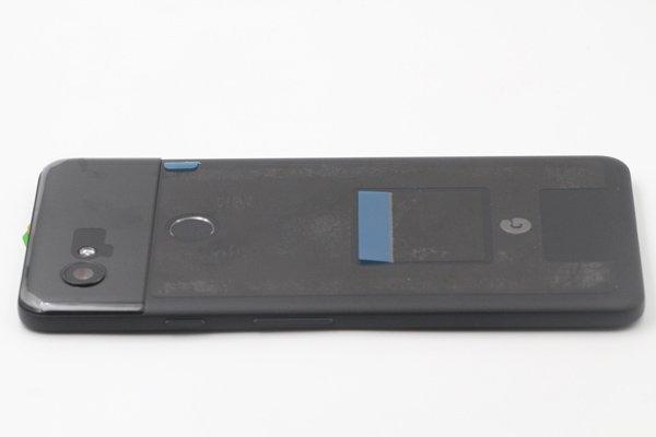 【ネコポス送料無料】Google Pixel2 XL バックカバー ブラック [5]