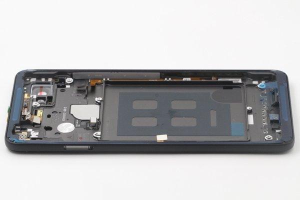 【ネコポス送料無料】Google Pixel2 XL バックカバー ブラック [6]