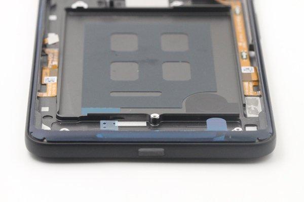 【ネコポス送料無料】Google Pixel2 XL バックカバー ブラック [8]