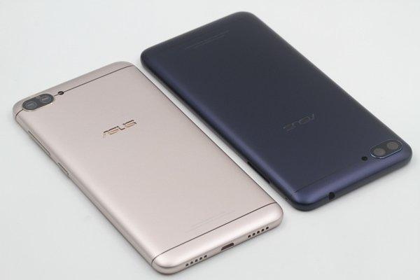 【ネコポス送料無料】ZenFone4 Max(ZC520KL)バックカバー 全2色 [8]