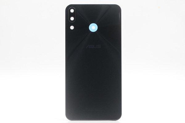 【ネコポス送料無料】Zenfone5 5Z(ZE620KL,ZS620KL共通)バックカバー ブラック [1]
